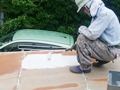 ジェイオーエスの屋根塗装